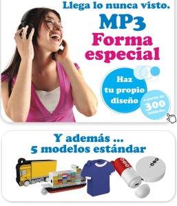 SYM Regalos y Reclamos Publicitarios - MP3