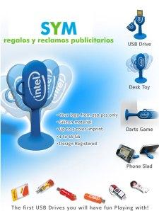 USB - SYM Regalos y Reclamos Publicitarios