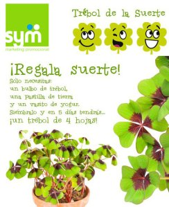Regala Suerte - SYM Marketing Promocional