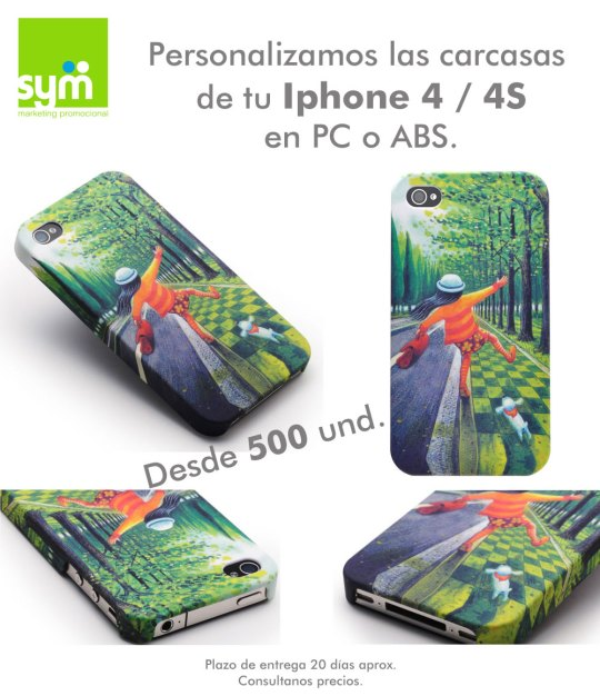 Carcasas Iphone - SYM Marketing Promocional