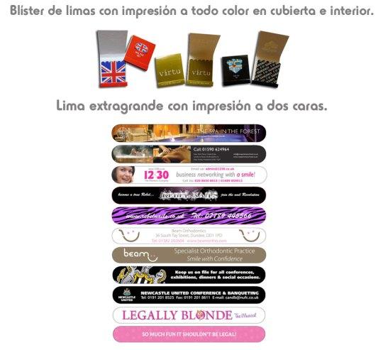 Limas de uñas personalizadas - SYM Marketing Promocional