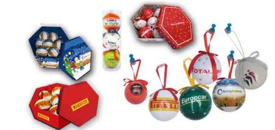 Bolas de Navidad en papel - SYM Marketing Promocional