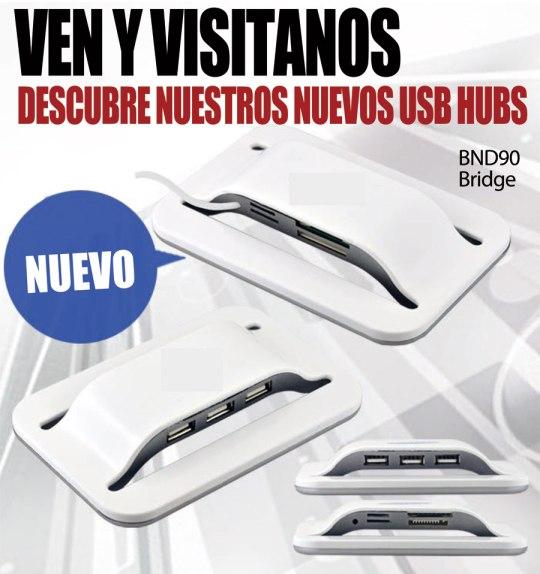Descubre nuestros nuevos HUB USB - SYM Marketing Promocional