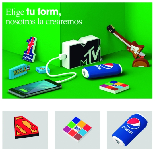 USB - PowerBank Personalizados - SYM Promotional Objects S.L.