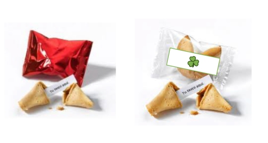Galletas de la Suerte - SYM Promotional Objects S.L.